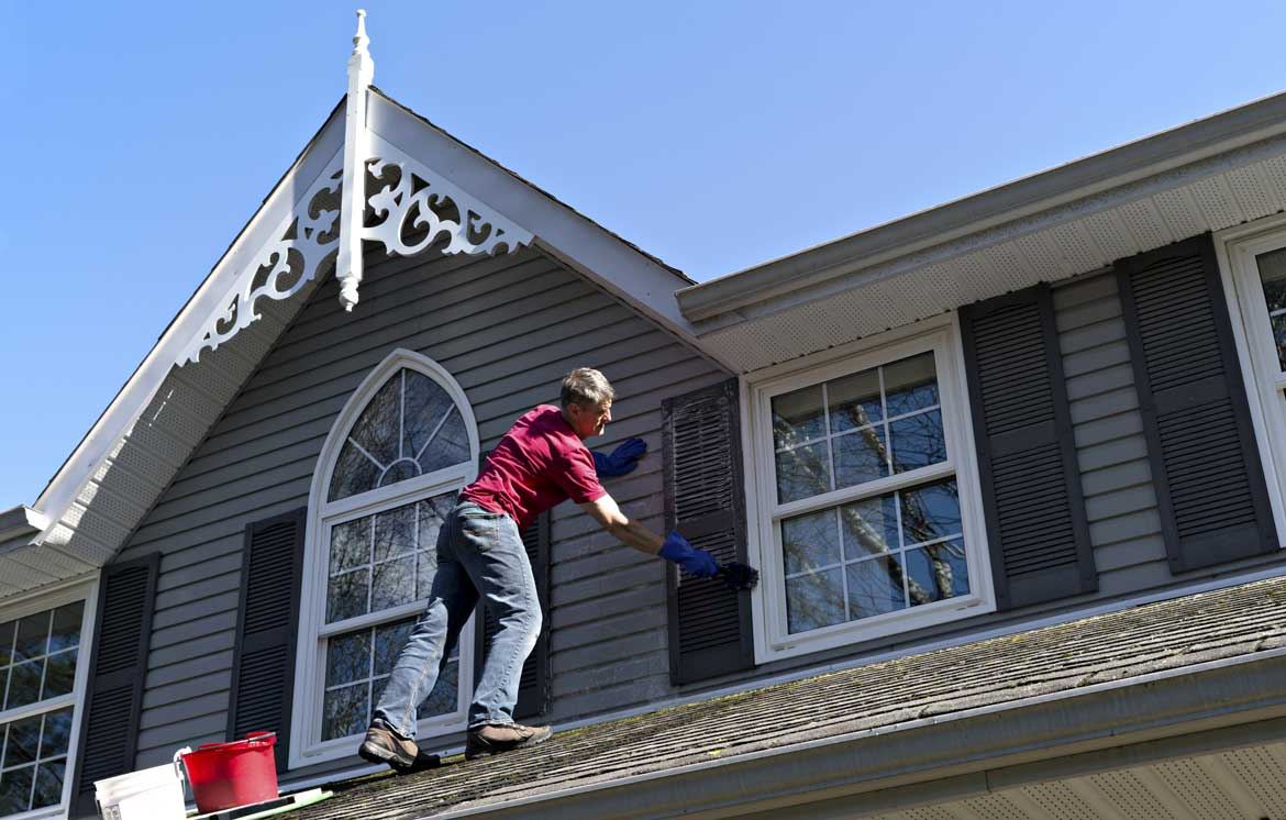 Efficient Siding and Gutters